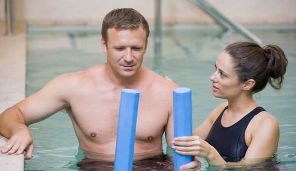 Aquatic Therapy in Pool